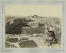 Description de l'image  Walpi (Hopi), ca. 1873-1881.jpg.
