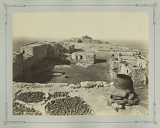 Walpi, Arizona - Walpi (circa 1877). Photo by John K. Hillers.