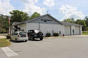 Walthourville, Georgia - Image: Walthourville Fire station