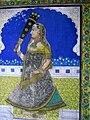 Wandmalerei in Juna Mahal.jpg