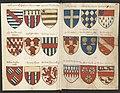 Wapenboek Beyeren (armorial) - KB79K21 - folios 025v (left) and 026r (right).jpg