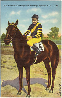 War Admiral American-bred Thoroughbred racehorse