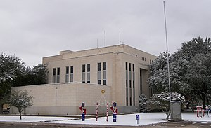 Monahans, Texas - Ward County Courthouse in Monahans.