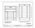 Wardlaw-Smith House, Washington Street, Madison, Madison County, FL HABS FLA,40-MAD,1- (sheet 8 of 13).png