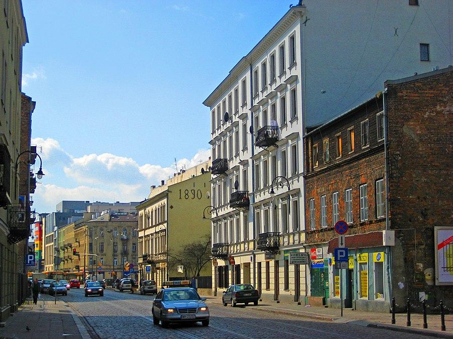 Ząbkowska Street in Warsaw