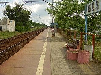 Warszawa Wesoła railway station - Image: Warszawa Wesoła train station