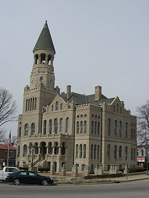 Washington County Courthouse, gelistet im NRHP Nr. 80000047[1]