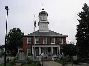 Washington County, Kentucky - Image: Washington county courthouse