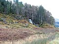 Waterfall in Glen Shiel - geograph.org.uk - 284775.jpg