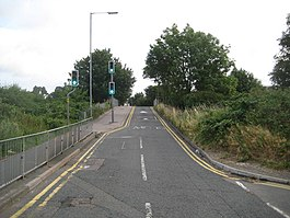 Watford, Vicarage Road railway bridge - Geograph-3598174-by-Nigel-Cox.jpg