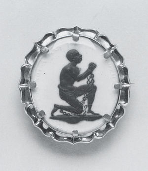 Representation of slavery in European art - Anti-Slavery Medallion by Josiah Wedgwood