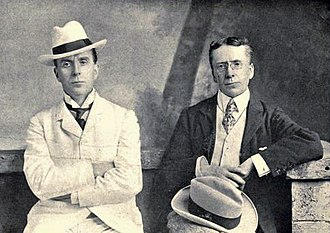 The Diary of a Nobody - George (right) and Weedon Grossmith