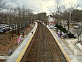 Wellesley Square station from Crest Road, March 2013.JPG