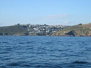 Wembury - Image: Wembury from the sea