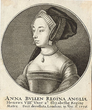 Wenceslas Hollar - Anne Boleyn