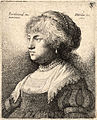 Wenceslas Hollar - Bust of Saskia, after Rembrandt (State 2).jpg