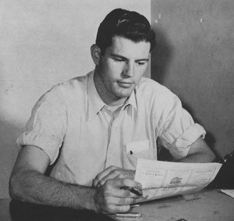 Wendell Bell - Bell circa 1948 at Fresno State University