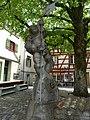 Werner Hilber (1900–1989) Bildhauer, Böckebrunnenskulptur, Wiler Böcke, 1951, Wil, St.Gallen.jpg