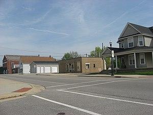 Milroy, Indiana - Main Street