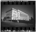 West elevation and north elevation - Municipal Building, East First and Locust Streets, Des Moines, Polk County, IA HABS IOWA,77-DESMO,13-1.tif