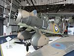 Westland Lysander at RAF Museum London.jpg