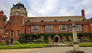 Westminster College, Cambridge - The Main Building of Westminster College
