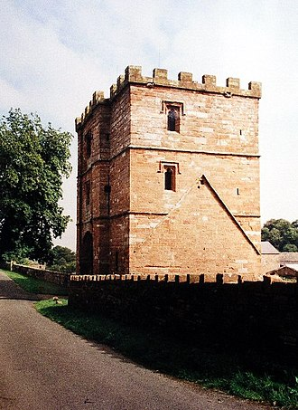 Ranulf le Meschin, 3rd Earl of Chester - The gatehouse of Wetheral Priory, founded by Ranulf c. 1106.
