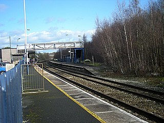 Whitchurch railway station (Shropshire) railway station on Shropshire, England