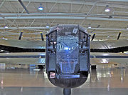 Tail-end Charlie's FN20 turret on a Canadian Lancaster