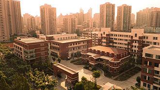 Nanyang Model High School - A whole view of Nanyang Model High School Lingling Campus