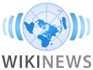 The current Wikinews logo