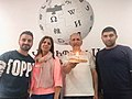 Wikidata seventh Birthday at WMAM.jpg