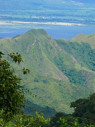 Venezuelan Coastal Range - Coastal Range of Venezuelan Andes from biological station Rancho Grande