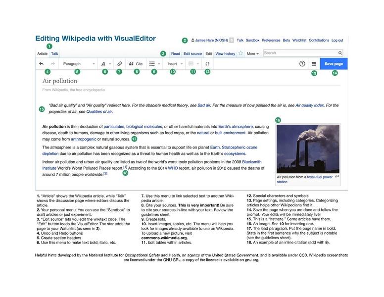 51ed97cd370d File Wikipedia Help Sheet - Editing Wikipedia with VisualEditor.pdf ...