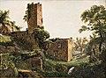 Wilhelm Marstrand, Landscape with ruins, c. 1838, 0099NMK, Nivaagaards Malerisamling.jpg