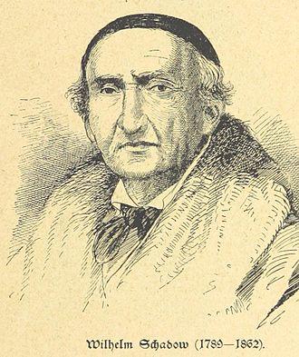 Friedrich Wilhelm Schadow - Illustration from Hundert Jahre in Wort und Bild