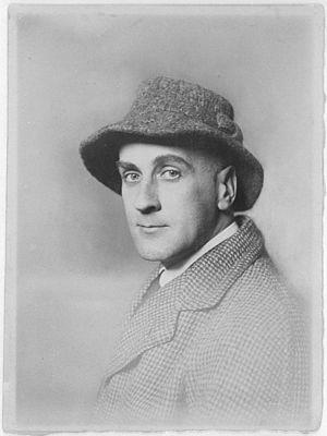 Wilhelm Uhde - Wilhelm Uhde, portrait photograph, c.1910