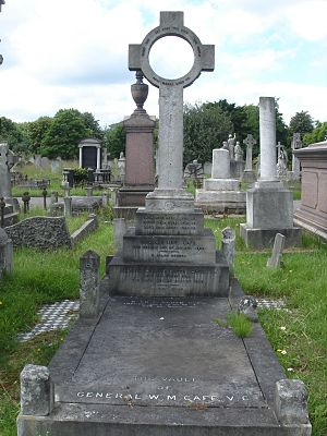 William Martin Cafe - Funerary monument, Brompton Cemetery, London