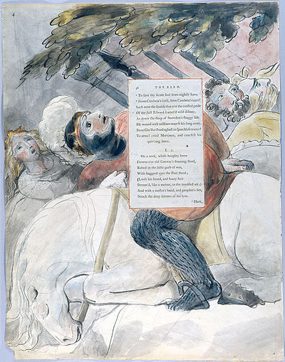 William Blake - The Poems of Thomas Gray, Design 56 The Bard 04.jpg