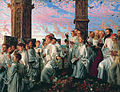 William Holman Hunt - May Morning on Magdalen Tower.jpg