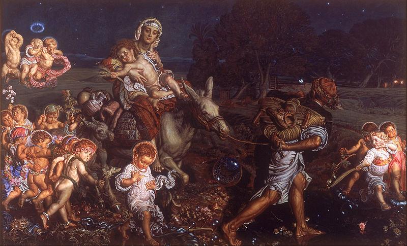 Файл:. Уильям Холман Хант - Триумф младенцев - Google Art Project (412238) JPG