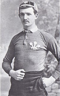 William McCutcheon Welsh rugby union and rugby league footballer