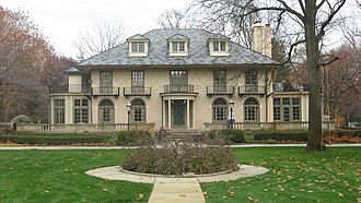 Indiana Governor's Residence - 4343 N. Meridian Street