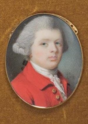 William Egerton - William Tatton (Egerton), 1769 portrait by Samuel Cotes
