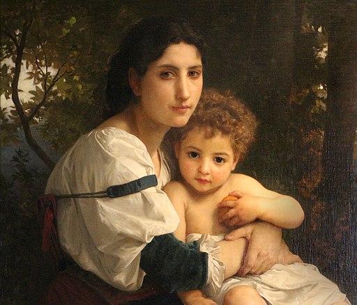 William adolphe bouguereau, riposo, 1879, 02
