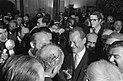 Willy Brandt nach der Wahl zum Bundeskanzler