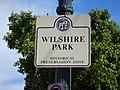 Wilshire Park HPOZ Sign.JPG