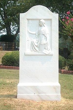 Ellen Axson Wilson - Ellen Louise Wilson's grave in Myrtle Hill Cemetery, Rome, Georgia
