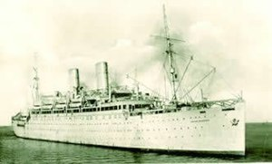 The Empire Windrush which brought immigrants f...