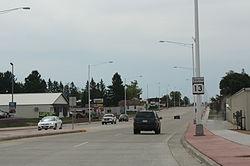 Wisconsin Highway 13 in Medford.jpg
